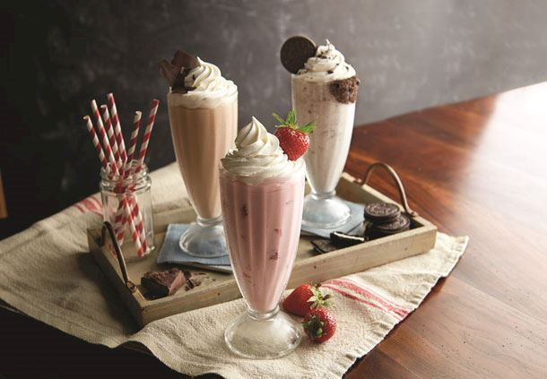 Bill's Bar & Burger - Milkshakes