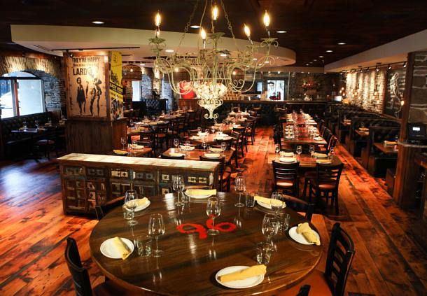 Davanti Enoteca Dining Area