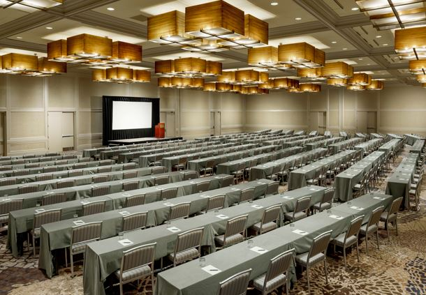 Grand Ballroom - Classroom Chevron Set-up
