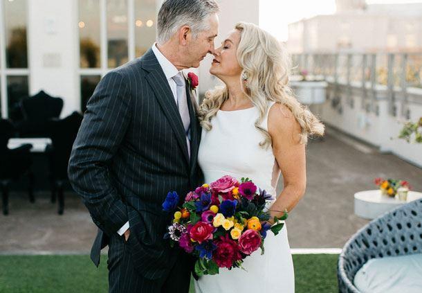 Rooftop Terrace - Wedding Couple
