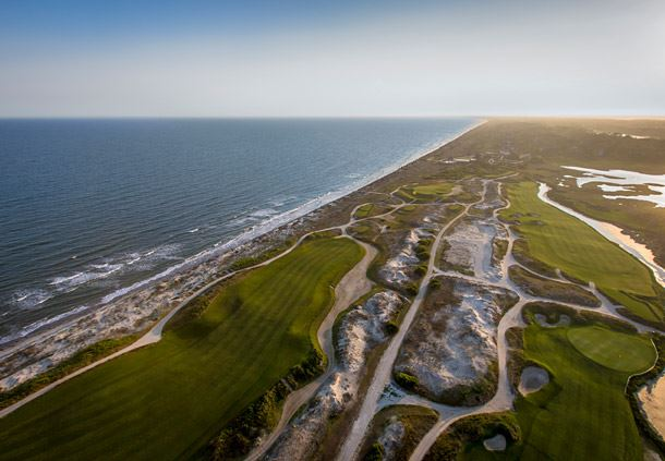 The Ocean Course and Clubhouse