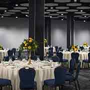 Exhibit Hall Banquet Setup