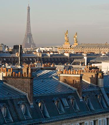 巴黎天际线景观