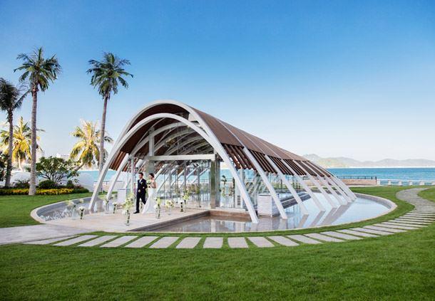 海滨婚礼堂