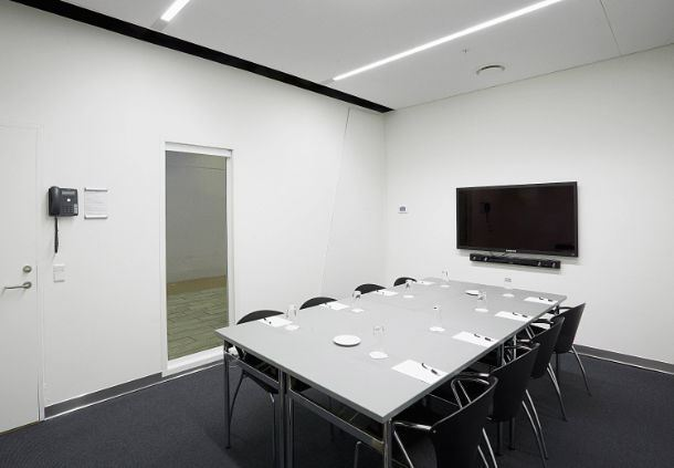 Meeting Room 18B - Boardroom Setup
