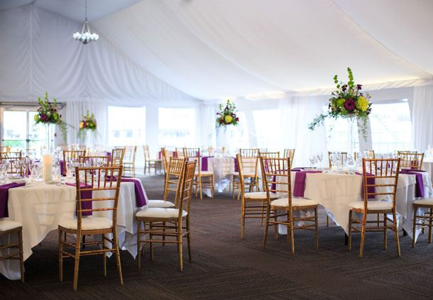 Pavilion Wedding Reception