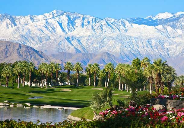 Palm Course & Santa Rosa Mountains