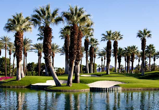 Palm Course Hole 8 - Water View