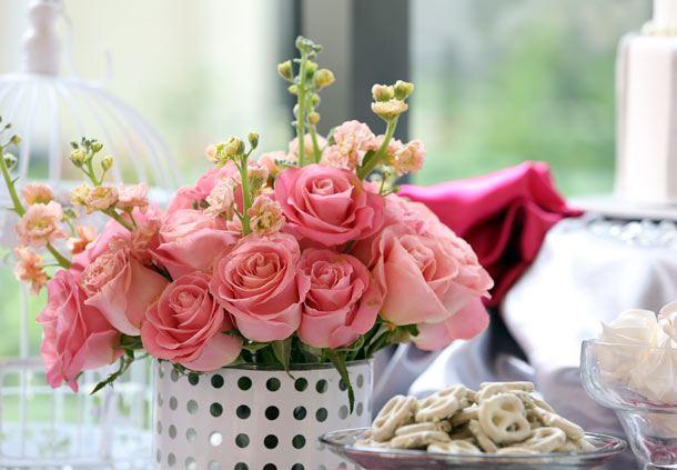 Rosas naturales para decoración
