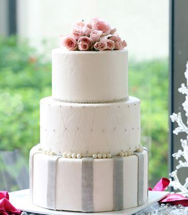 Pastel de boda en Cancún