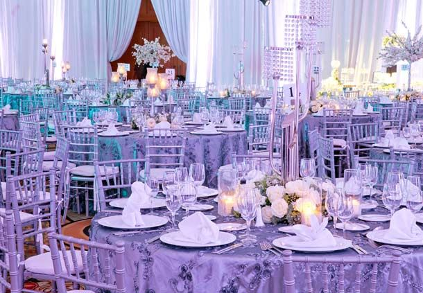 Montaje clásico: boda de noche