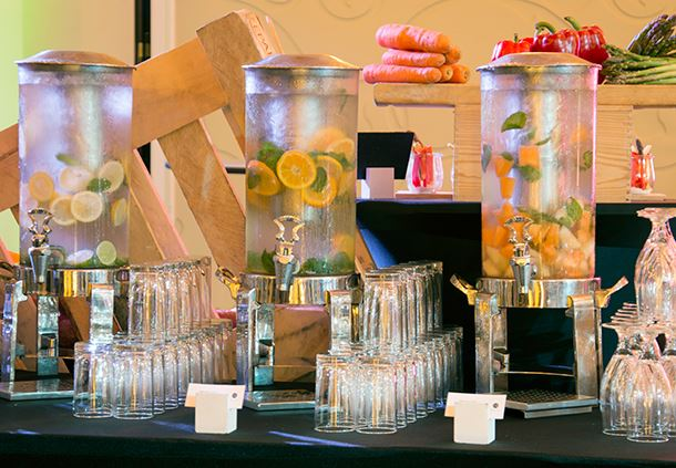 Catering Details - Infused Water Station
