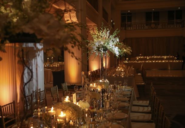 Burnham Hall Ballroom - Table Details
