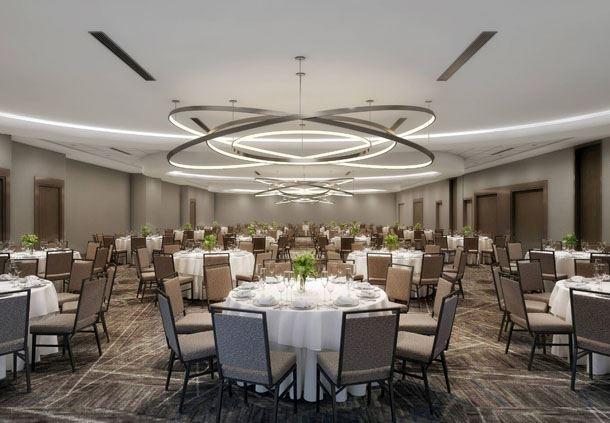 Covington Ballroom - Banquet Setup