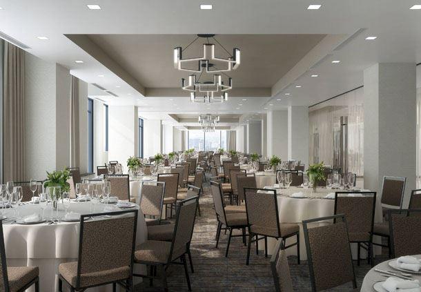 Riverview Ballroom - Banquet Setup