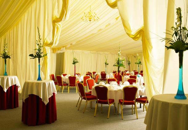Marquee at Forest of Arden