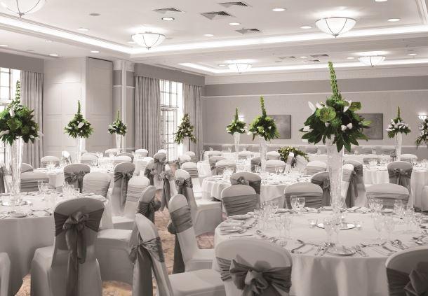 Arden Suite - Wedding Breakfast Setup