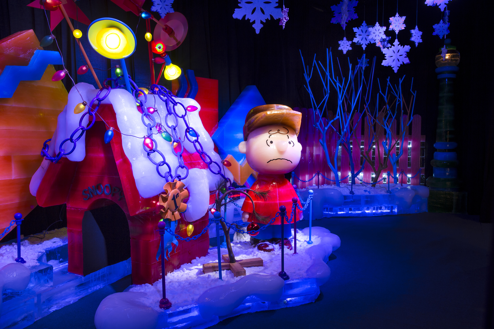 ICE! featuring A Charlie Brown Christmas