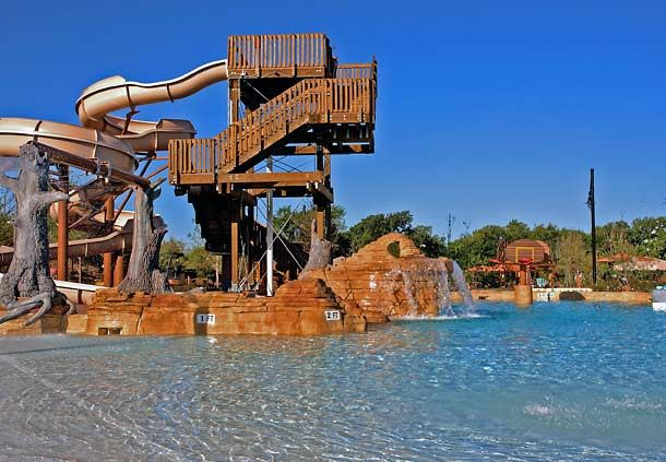Paradise Springs Waterslide