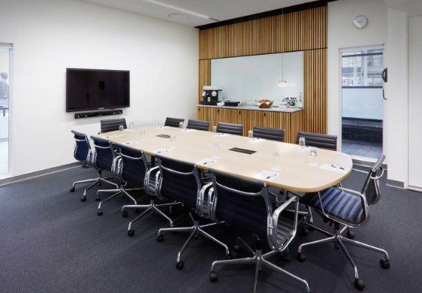 Meetingraum 23 - Boardroom-Aufbau