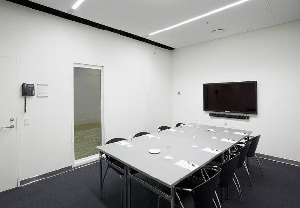 Meetingraum 18B - Boardroom-Aufbau
