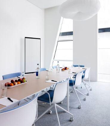 Meetingraum 176 - Boardroom-Aufbau