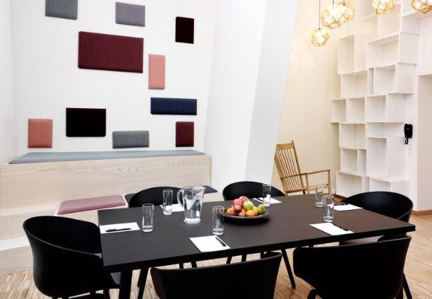 Meetingraum 68 - Boardroom-Aufbau