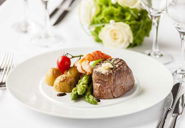 Ein Festmahl im München Marriott Hotel