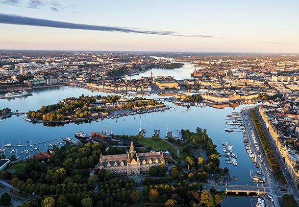Stadtansicht Stockholm