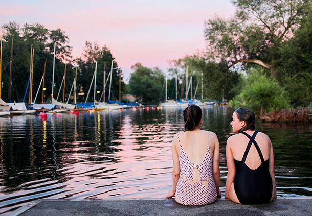 Schwimmen in Stockholm