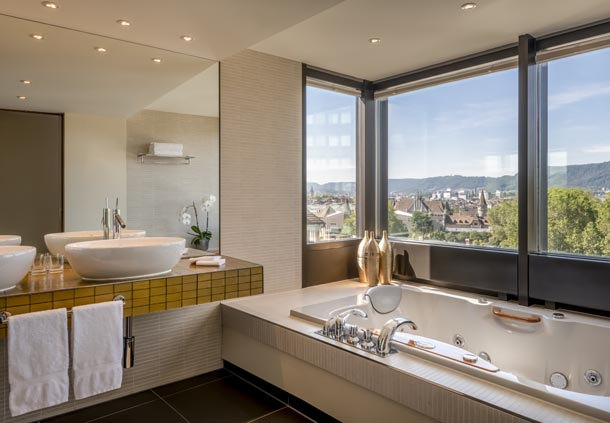 Business Suite - Badezimmer