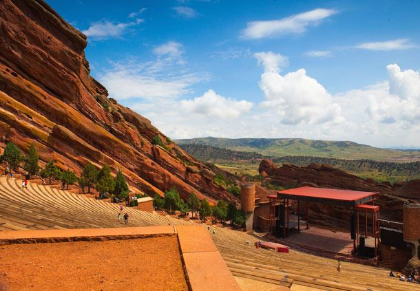 Red Rocks Amiptheater Denver