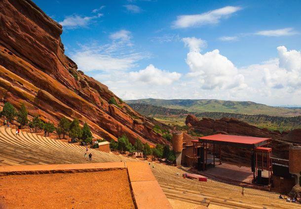 Red Rocks Amiptheater Denver