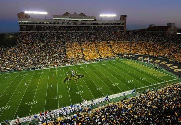 University of Colorado Boulder - Folsom Field