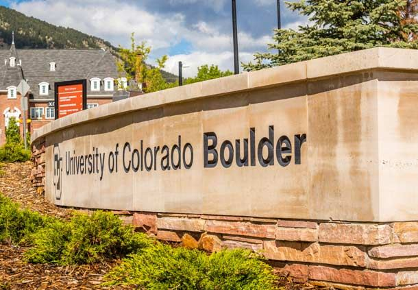 University of Colorado Boulder - Aerial View