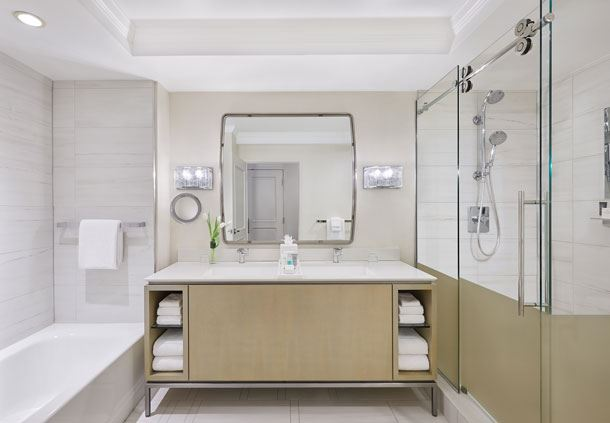 Guest Bathroom - Sophisticated Luxury