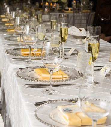 Ballroom - Wedding Setup Details