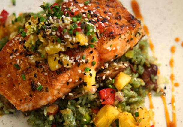 Fifty300 - Honey Soy Glazed Salmon