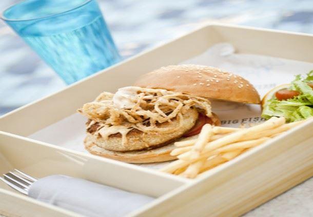Maryland Crab Burger