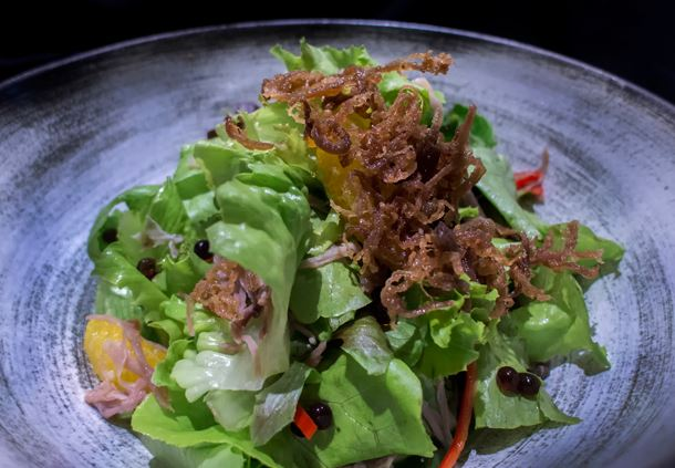 Spicy Duck Salad