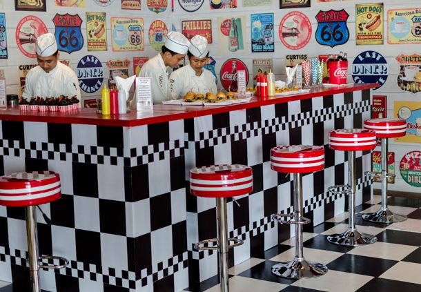 Meeting Room - Nostalgic Diner Style