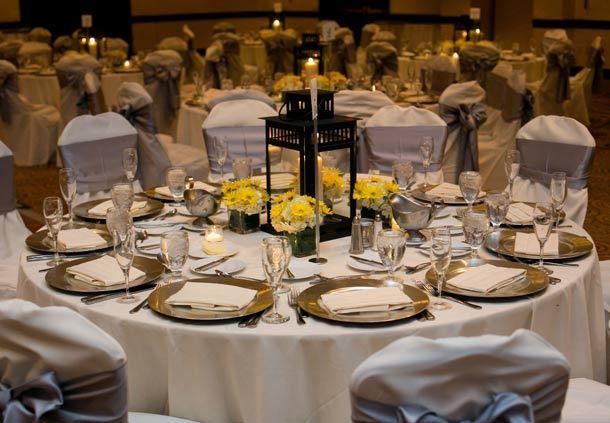 Wedding Details - Table Setup