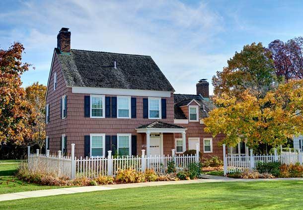 Colonial Home - Walt Whitman House