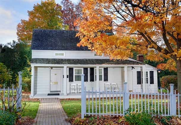 Colonial Home - Edgar Allen Poe Cottage