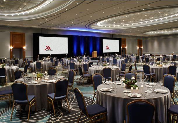 Ambassador Ballroom - Banquet Setup Details