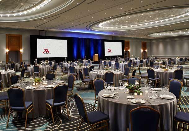 Ambassador Ballroom - Banquet Setup