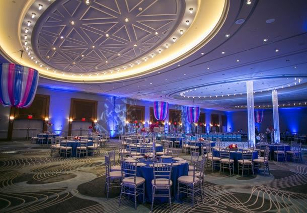 Wedding Reception Ambassador Ballroom
