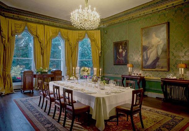 Constitution Suite Dublin dining