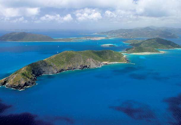 Scrub Island Aerial