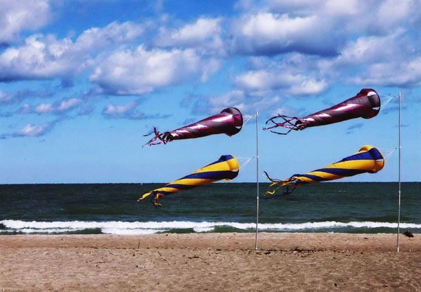 Kite Beach at Presque Isle
